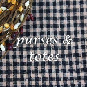Handbags - purses & totes